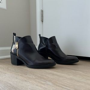 Zara Combined Ankle Boot